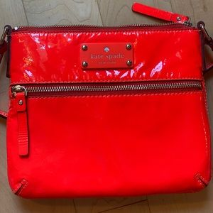 Kate Spade Orange Crossbody Bag